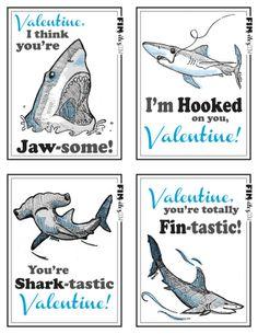 Free FINVITES valentine printables available through KpQuePasa.com!    {KpQuePasa}