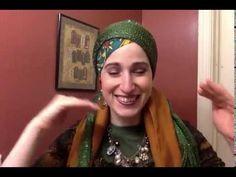 "Rivka Malka of Wrapunzel demonstrates ""The Clockwork"" PLUS a Turban"