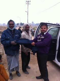 #SHRI Group Donating Clothes to our labors and their children
