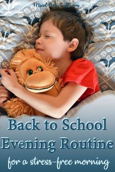 Having a routine is always  a great idea and incorporating one at the beginning of a new school  year, sets the tone for the rest of year. Here are a few great tips that  will make your transition much easier and your mornings stress free.  #routine #backtoschool #parenting #stressfreemorning #eveningroutine  #schoolnight #school #kids