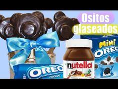 Piruletas de Oreo y Nutella con forma de osito, muy fáciles - YouTube