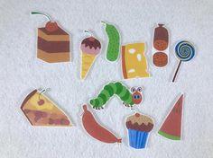 Hungry Caterpillar Felt Board Story  Flannel Board  Speech