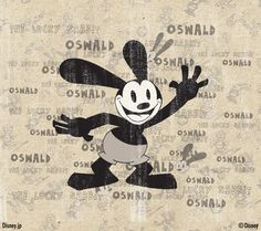Oswald the lucky rabbit Walt Disney