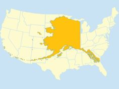 Alaska is huge.