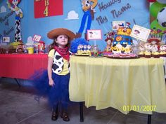"Photo 1 of 32: Cowboy/Cowgirl, Toy Story, Woody and Jessie / Birthday ""Gracelyn's 4th Birthday Party"" 
