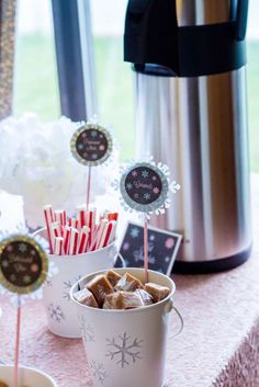 Winter Birthday Party Ideas | Photo 3 of 39 | Catch My Party