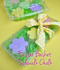 simple diy easter treats...this one is chalk