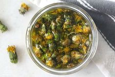 This dandelion oil nourishes hydrates and supports skin healing. It can be used as a face moisturizer chapped-lip balm baby bottom balm owie salve burn salve bug bite balm and Dandelion Oil, Dandelion Benefits, Dandelion Flower, Flower Oil, Herbal Remedies, Natural Remedies, Holistic Remedies, Homemade Face Moisturizer, Dandelion Recipes