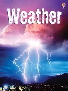 Usborne Books & More. Weather (Level 2) - IR. What makes the wind blow? How can rain sometimes be red? Why are tornadoes like vacuum cleaners? You'll find out the answers and lots more about weird and wonderful weather in this fascinating book. Crazy4Usborne.com