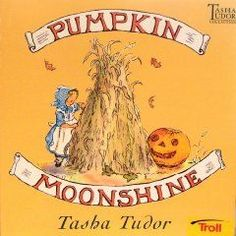 The Tasha Tudor and Family shop carries the classic Halloween book Pumpkin Moonshine, Tasha's very first book, published in Halloween Books, Vintage Halloween, Halloween Rules, Halloween Stories, Halloween Jewelry, Fall Halloween, Pumpkin Books, Pumpkin Pictures, Fall Pictures