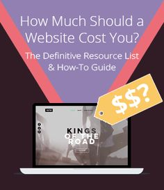 What is the cost of building a website? See our step-by-step pricing guide on how to estimate the cost of a website for you.  #WebsiteBuilder #buildawebsite #costofwebsite