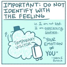 Interview: Artist with Anxiety Illustrates Mental Health Tips She Learns in Therapy - Mental Health Comic Shares How Mindfulness Can Help in Everyday Life -