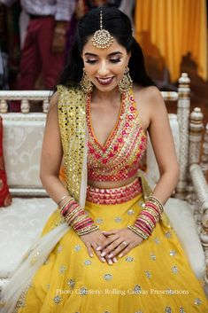 #bridalmakeup #shimmeryeyes #merlothuedlips #shimerryeyelook #merlot #makeup #mua #bridalbeauty #bridalmakeup #bridaldiaries #makeupforever #makeupart #beautymakeup #instamakeup #weddingsutra #makeupaddict #makeuplover #makeuplove #weddingmakeupideas Bridal Wardrobe, Cape Designs, Yellow Lehenga, Desi Bride, Wedding Week, Wedding Sutra, Real Style, Makeup Forever, Bridal Beauty