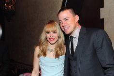 Rachel McAdams and Channing Tatum at The Vow after party.. Real life prince and princess