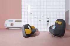 Float Sofa for Sancal - Karim Rashid