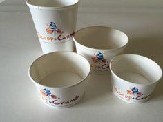 Manufactured by Scyphus www.scyphus.co.uk Paper Cups, Printed, Tableware, Dinnerware, Tablewares, Prints, Dishes, Place Settings