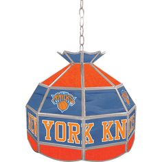 NBA1600 Ny New York Knicks NBA 16 Inch Tiffany Style Lamp