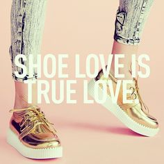 Truer words have never been spoken #WordsOfWisdom #Shoes #Gold #Forever21 #MustHave
