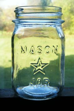 Vintage Mason Jars, Mason Jar Diy, Thinking Of Someone, Star Magic, Canning Jars, Eyes, Stars, Antiques, Collection