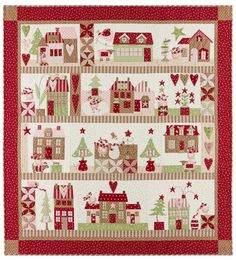 I've designed so many Christmas quilts over the years, my house isfilled with them. Not all at once of course. Many remain folded on the shelves, waiting for achance to be shared.  From my very first one, Catch A Christmas Star, to my latest one, Mistletoe Lane, there are many in-between.…