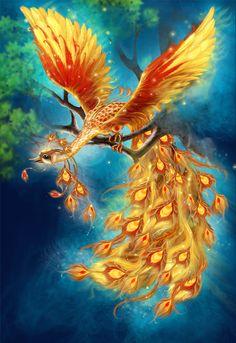 жар птица (Рисунки и иллюстрации) - фри-лансер Екатерина Тарасюк [moteelde].