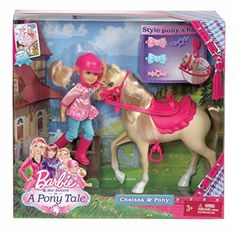 Barbie and Her Sisters in a Pony Tale Chelsea and Pony Doll Set Mattel http://smile.amazon.com/dp/B00BU3YI1S/ref=cm_sw_r_pi_dp_XFv3tb1ZRTRZHJGQ