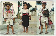 #Mexico, Highlands of Chiapas Typical Dresses