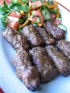 Turkish Recipes: Tekirdağ Meatballs (Tekirdağ Köftesi)