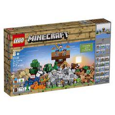 Minecraft Crafting Box 2.0 Lego Set