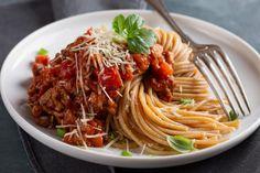 Sauce à spaghetti de dernière minute