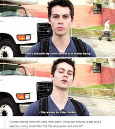 Dylan O´Brien - love this guy!! Rumor that he may actually be in the running for new Spiderman movie (Disney just bought franchise)