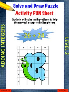 Sum and product puzzles positive numbers mapa cu fie mici objective add positive and negative integers with this worksheet students will be engaged as they solve problems by adding negative and positive numbers ccuart Gallery