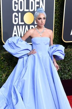 5dbebb620471 Lady Gaga s Golden Globes Look Is a Throwback to Judy Garland s  A Star Is  Born
