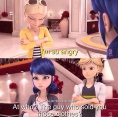 """Adrien there just like """" mhmmmm, I've got you Mari"""""""