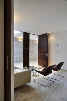 Rajuela House by Muñoz Arquitectos, interior design
