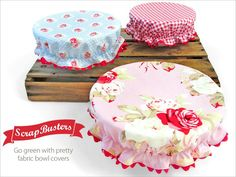 You will love these gorgeous Elastic Reusable Bowl Covers and they will keep your food protected. They look so pretty and we have a video tutorial.