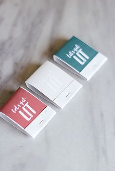 Let's get LIT with this adorable wedding favor matches DIY tutorial. Unique Wedding Favors, Unique Weddings, Diy Wedding, Sticker Printer Paper, Lets Get Lit, Diy Cans, Printable Planner, Printables, Diy Tutorial
