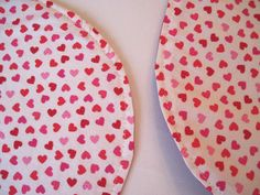Hey, I found this really awesome Etsy listing at https://www.etsy.com/listing/216456261/oval-valentine-heart-placemats
