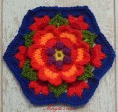 Haakcreatief: De bloemen en boek van Frida - Frida's Flowers Blanket CAL 2016