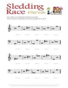8 best music intervals worksheets images in 2014 music. Black Bedroom Furniture Sets. Home Design Ideas