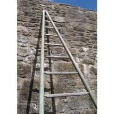 Very tall French orchard ladder with round rungs and uprights. This is an extremely rustic piece, showing layers of original paint. Antiques Online, Selling Antiques, Fax Number, Towel Rail, House Numbers, Lodges, Vintage Furniture, Decorative Items, Rustic