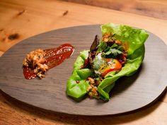 Get Bobby Flay's Orange-Glazed Shortribs with Kimchi Slaw Recipe from Food Network
