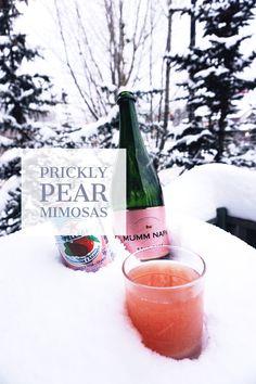 Prickly Pear Mimosas