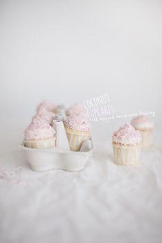 Coconut Cupcakes   Linda Lomelino