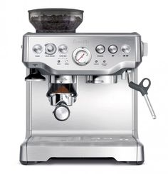 "Barista Express - ""Although the machine might look daunting to beginners, it's super easy to use."" 