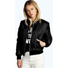 Black quilted waterfall jacket