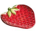 Strawberry plate
