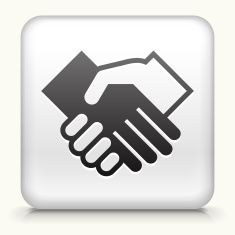 Black and white handshake icon vector art illustration Vector Icons, Vector Art, Pin Logo, Protein, Royalty, Illustrations, Black And White, Free, Design