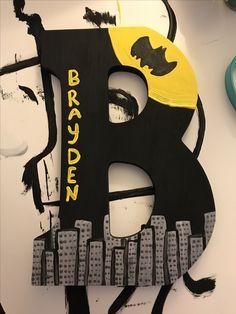 Batman themed letter 😊