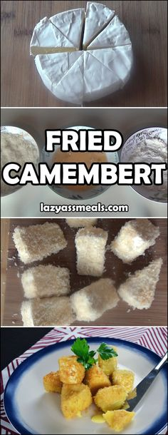 Deep fried camembert is simply amazing! I find it best goes in a salad!